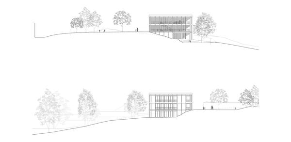 Nordfassade – Südfassade