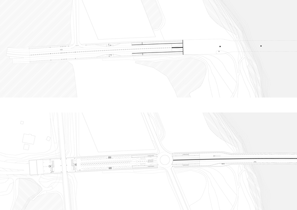 Autobahnebene – Parkingebene& Regionalverkehr