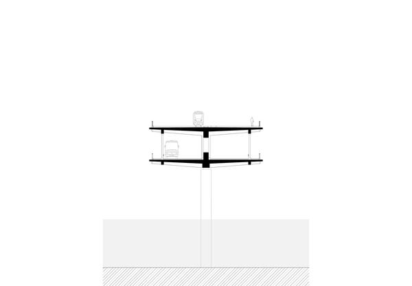 Querschnitt Brücke